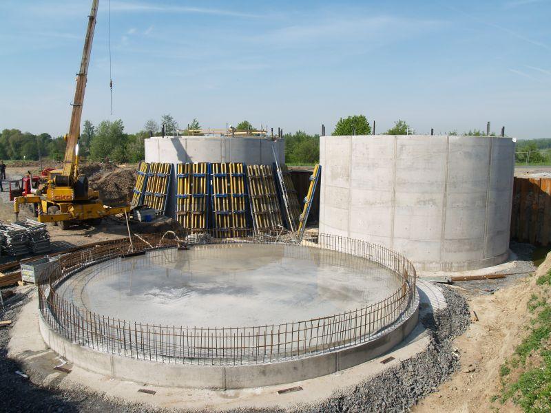 Výstavba ČOV Kobeřice